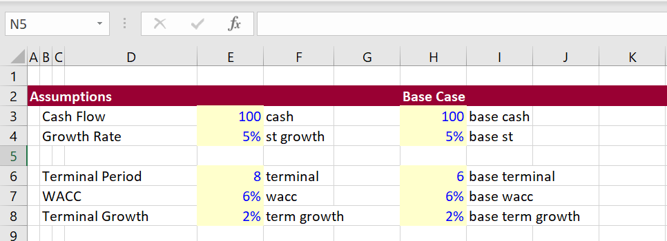 Better Data Tables with VBA – Edward Bodmer – Project and Corporate